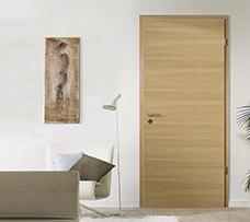 Lenteam beltéri ajtó Intarsia matt tölgy