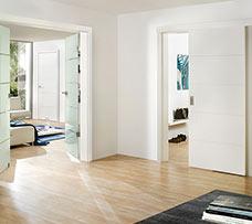 Lenteam beltéri ajtó White Art 101 lakkozott fehér